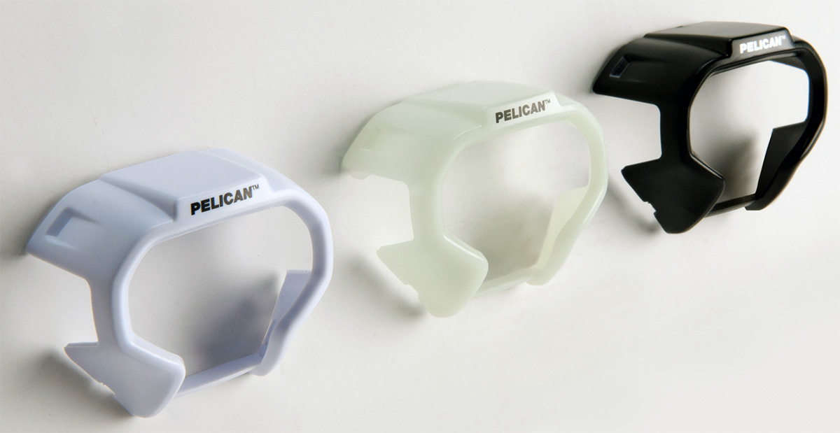 pelican peli products 2780 white black glow dark led headlamp