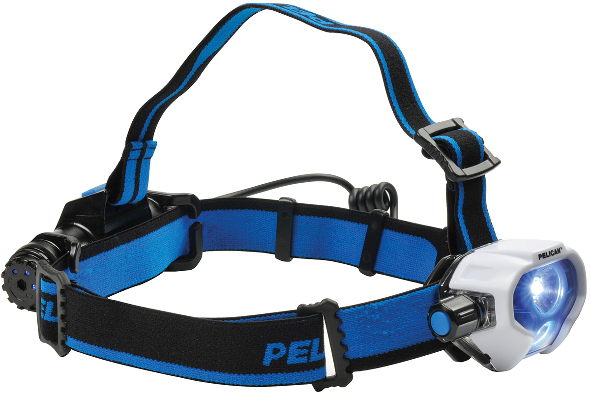 pelican peli products 2780R rechargable bright led headlamp