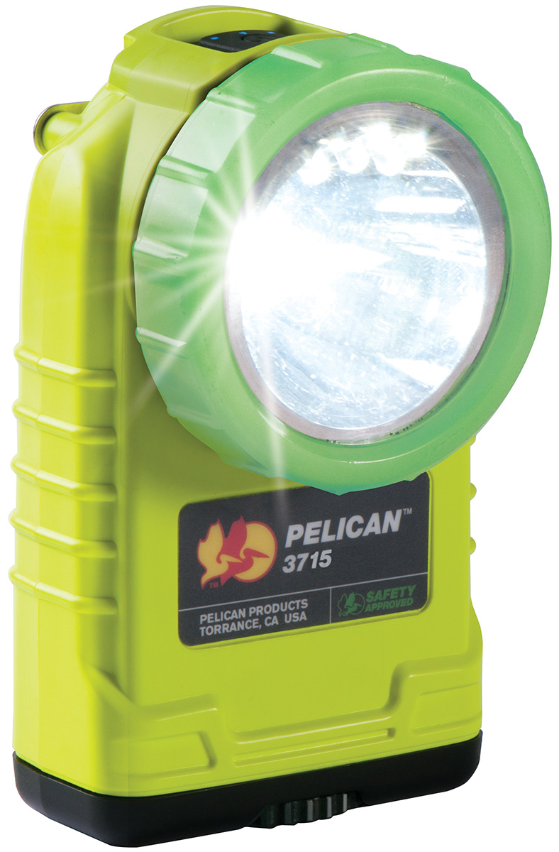 pelican peli products 3715PL glow dark angle work safety light