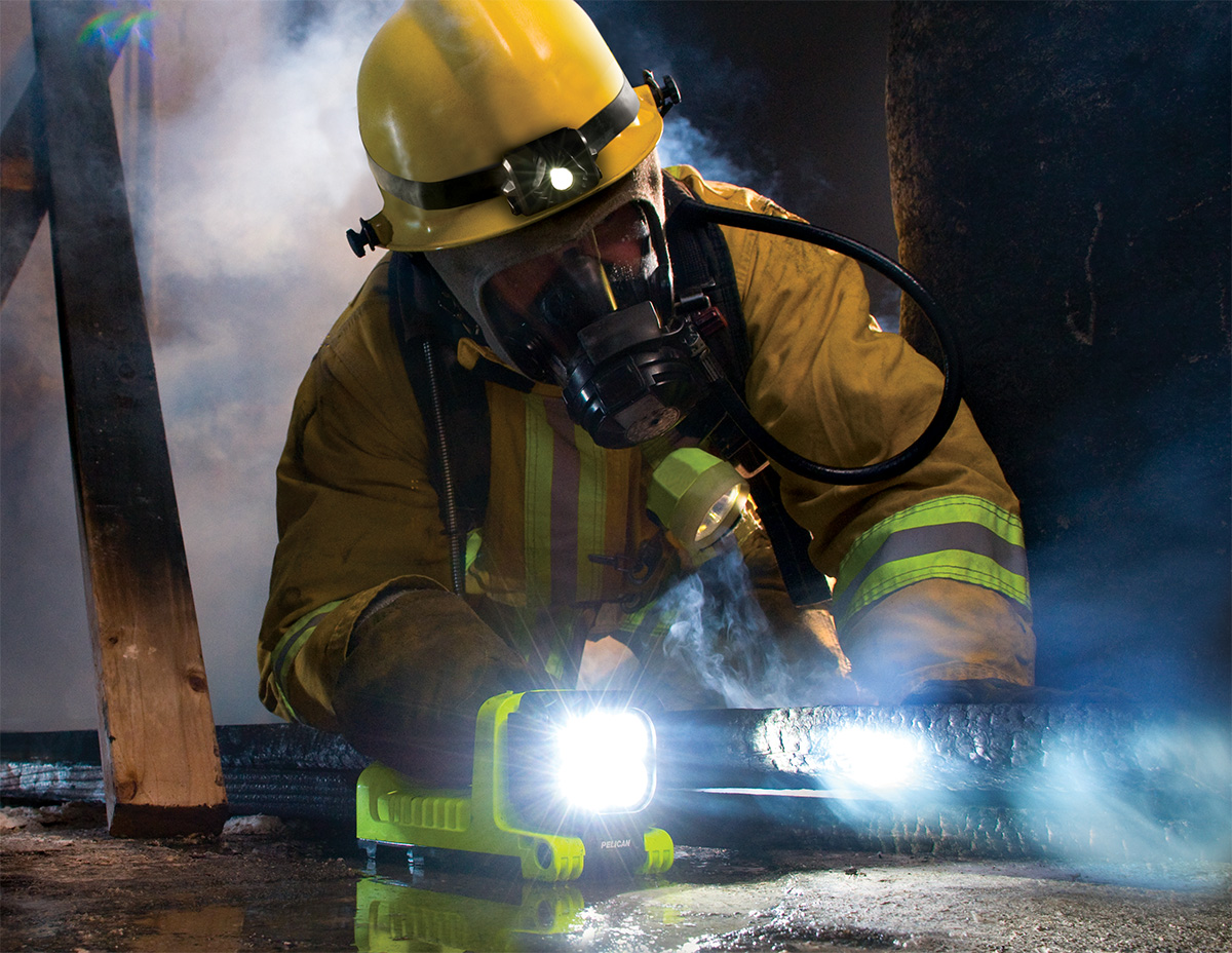 pelican peli products 9410L best firefighter led safety approved light