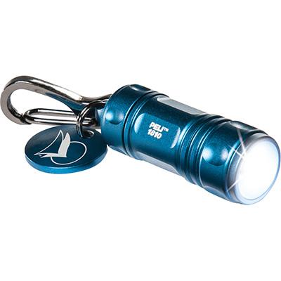 LLAVERO LINTERNA LED Peli ProGera 1810 azul