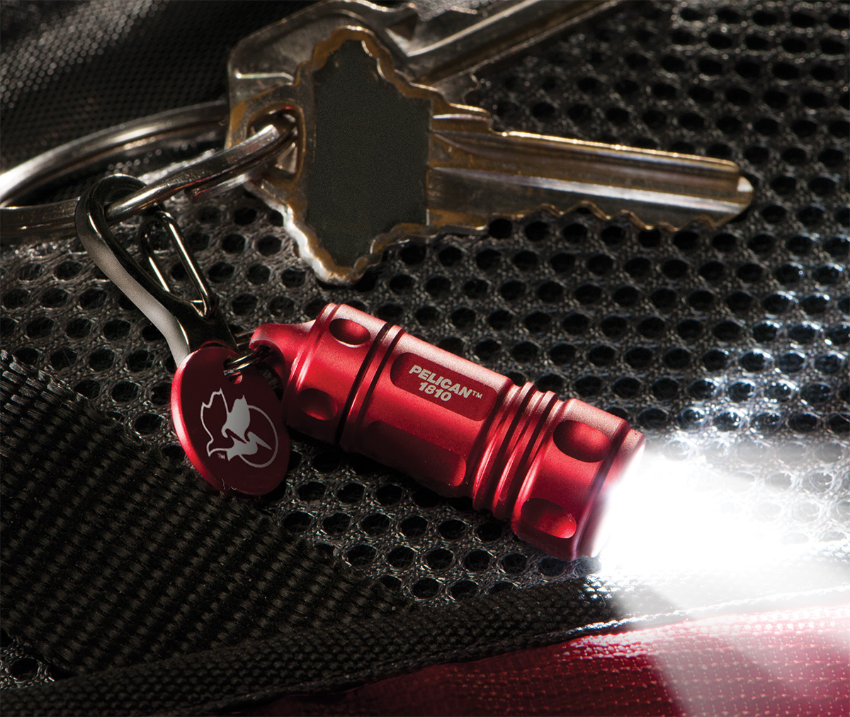 pelican peli products 1810 key chain led brightest flashlight