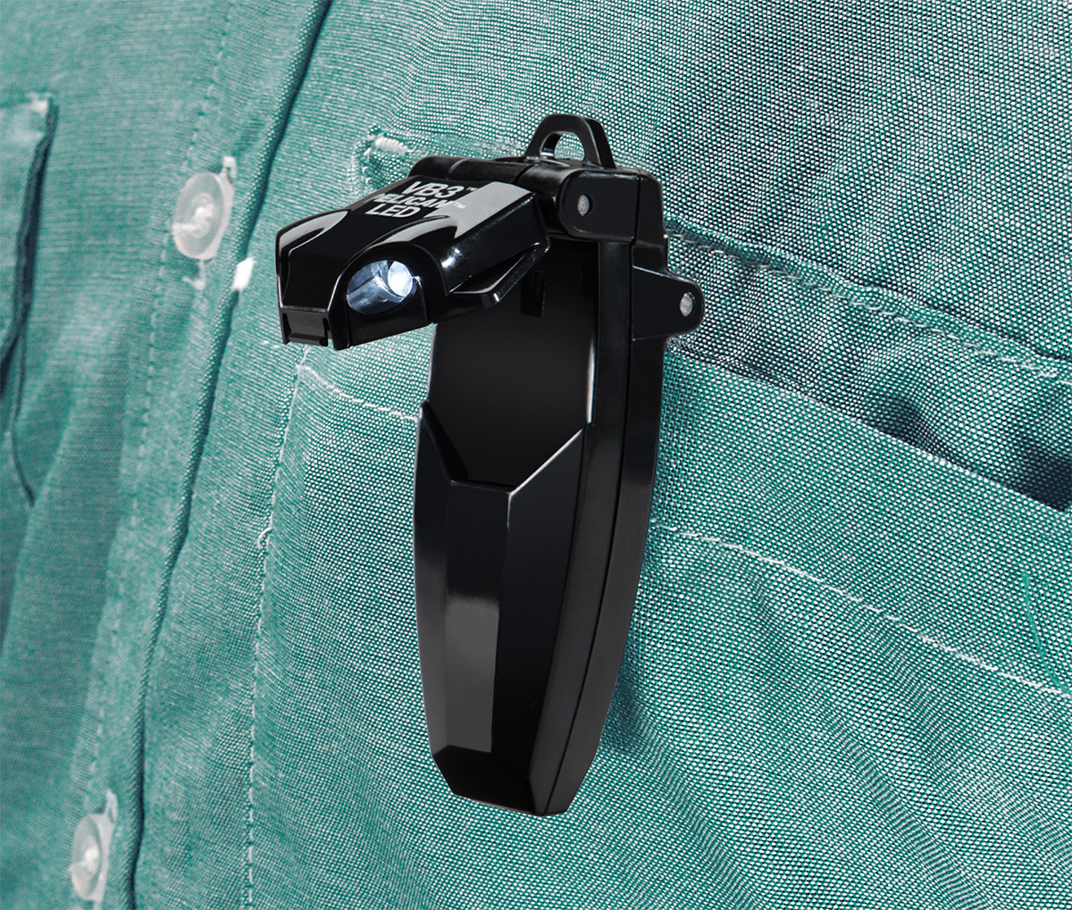 pelican peli products 2220 bright shirt pocket clip on led light