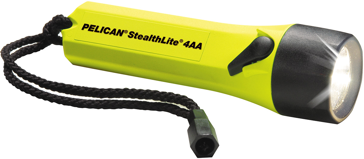 pelican peli products 2400 best bright yellow safety flashlight