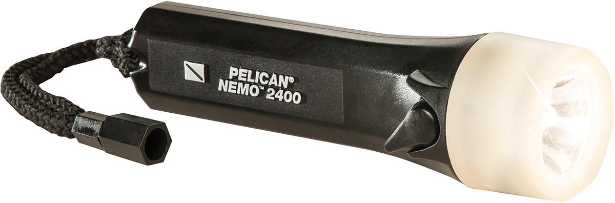 pelican peli products 2400N scuba watertight divelight flashlight