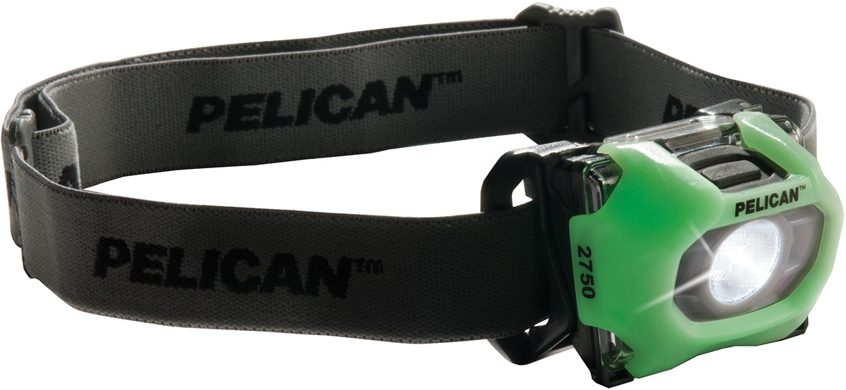 pelican peli products 2750 glow in dark led headlamp head lamp