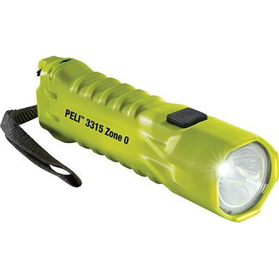 LINTERNA PELI 3315 LED ZONA 0 amarillo