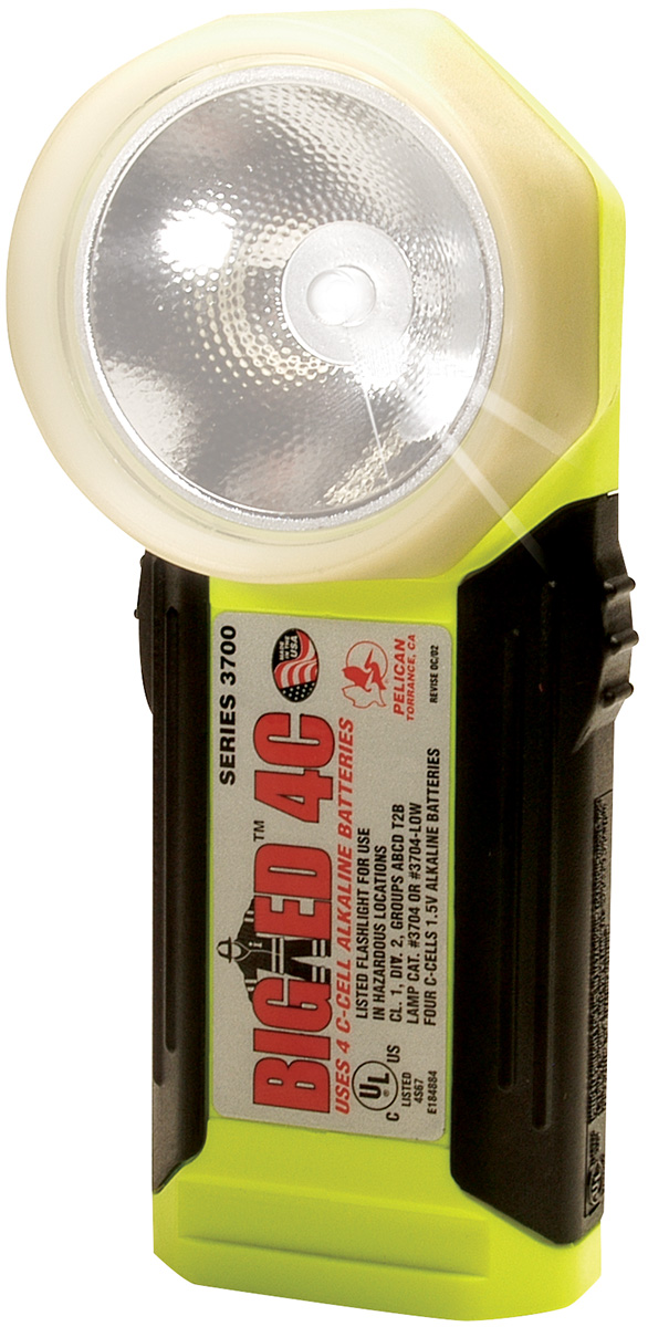pelican peli products 3700PL glowing safety right angle flashlight