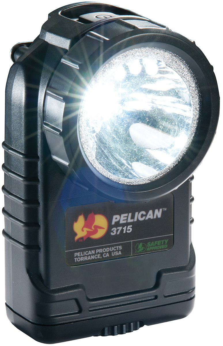 pelican peli products 3715 safety approved angle spot light