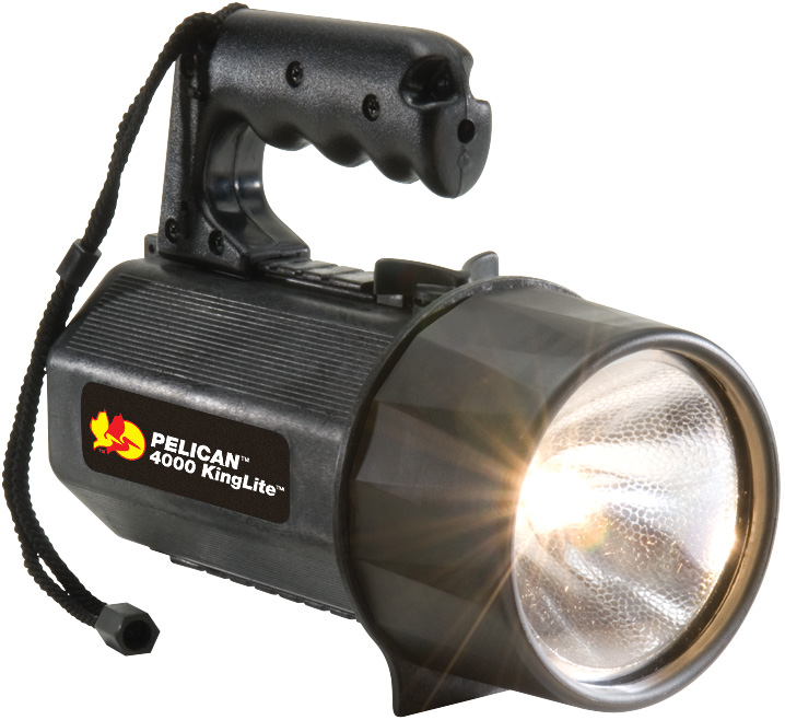 pelican peli products 4000 best kinglite large safety flashlight