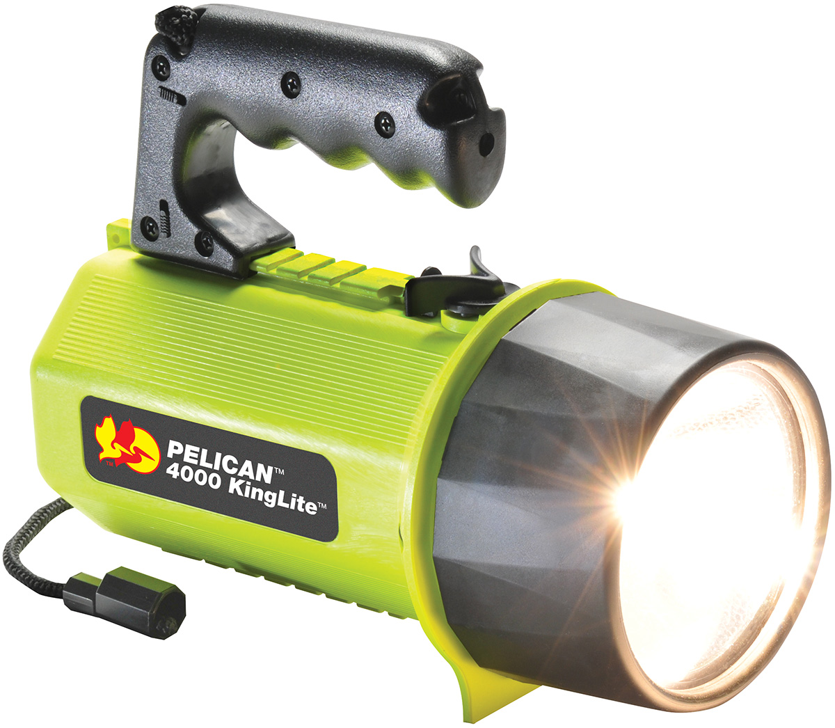 pelican peli products 4000 large safety approved big flashlight