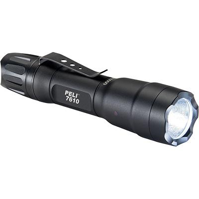 7610 LED Linterna Peli, Táctica con pilas intercambiables