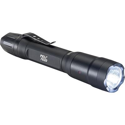 7620 LED Linterna Peli, Táctica con pilas intercambiables