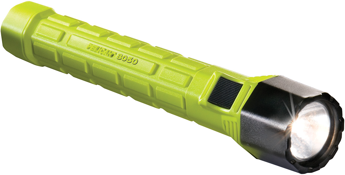 pelican peli products 8050 usa made rechargable police flashlight