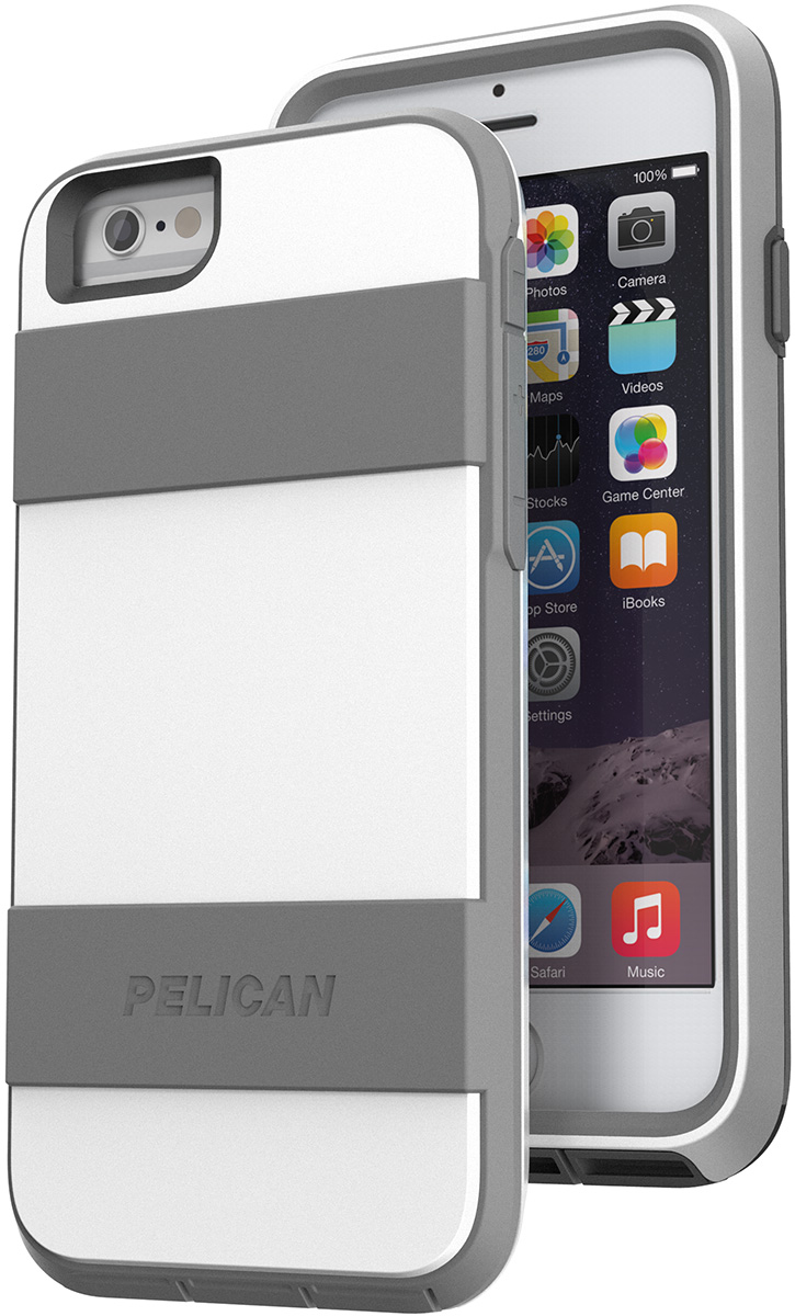pelican peli products C02030 white iphone 6 6s phone hard case