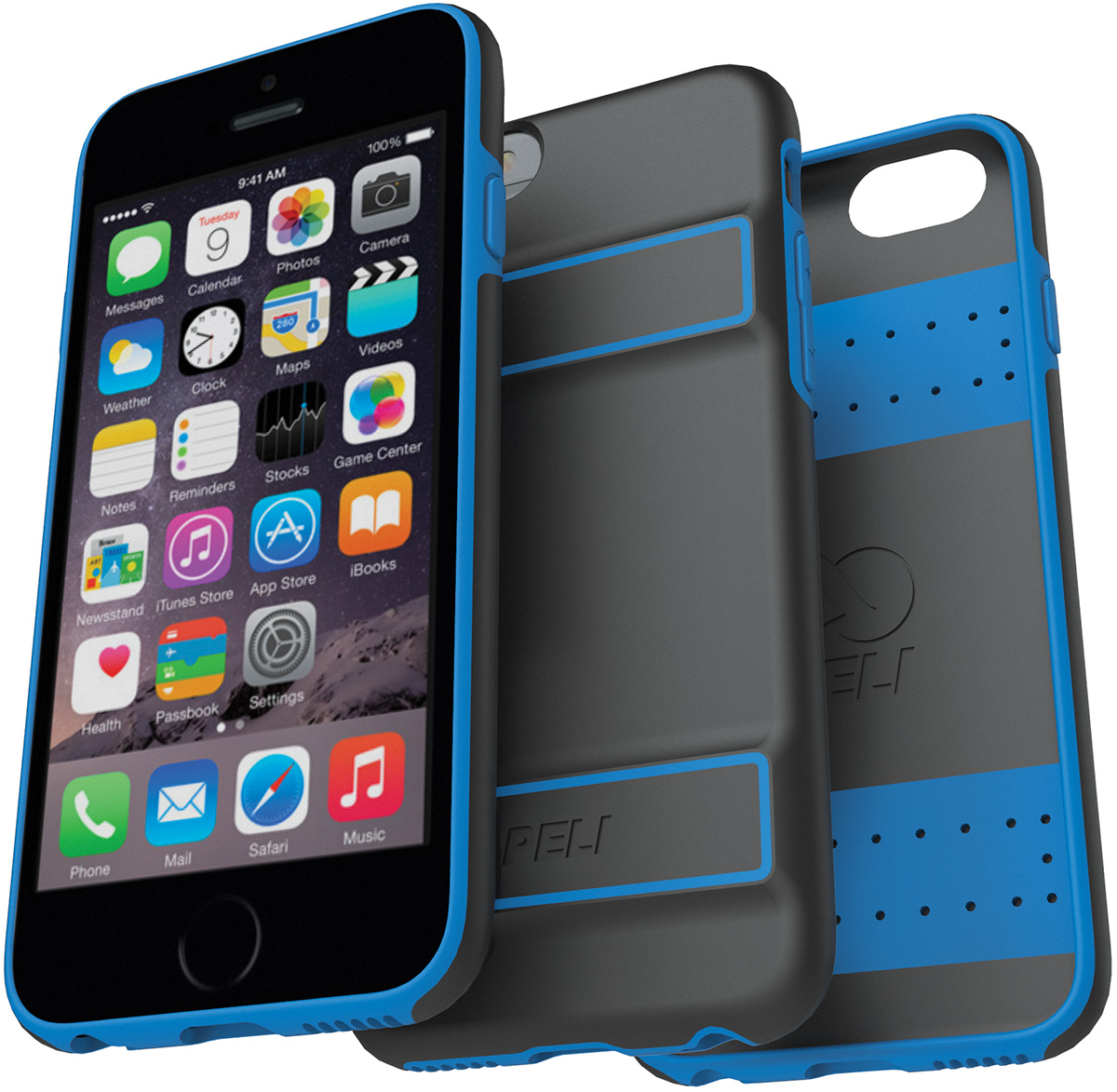 pelican peli products C02070 peli guardian slim protection iphone case