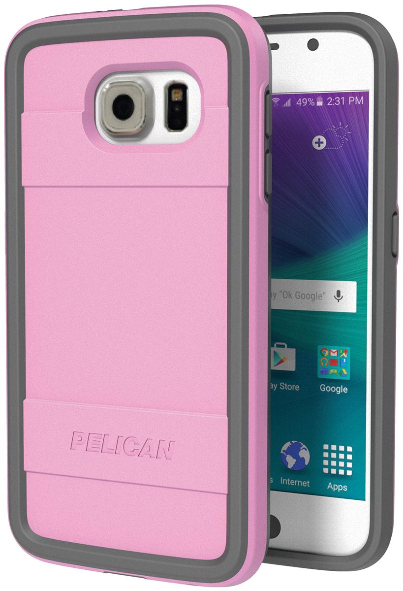 pelican peli products C04000 pink samsung galaxy s6 case