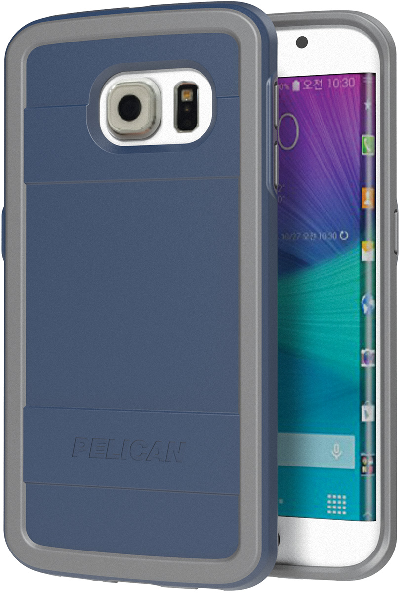 pelican peli products C05000 blue galaxy s6 edge protective case