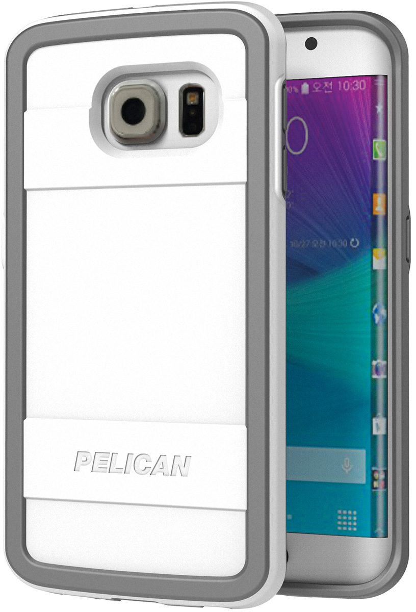 pelican peli products C05000 white galaxy s6 edge protective case