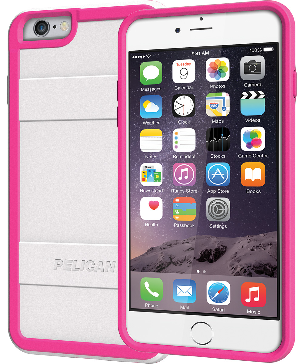 pelican peli products C07000 pink iphone 6 plus phone case