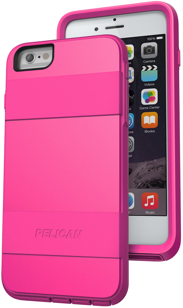 pelican peli products C07030 iphone 6 plus pink case