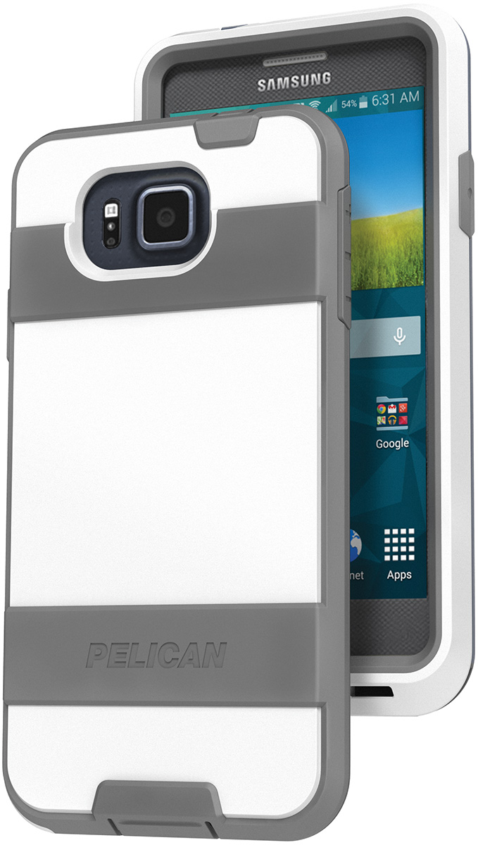 pelican peli products C09030 white samsung galaxy alpha case