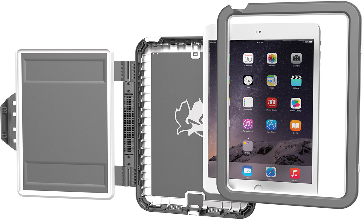 pelican peli products C11080 watertight apple ipad air hard case