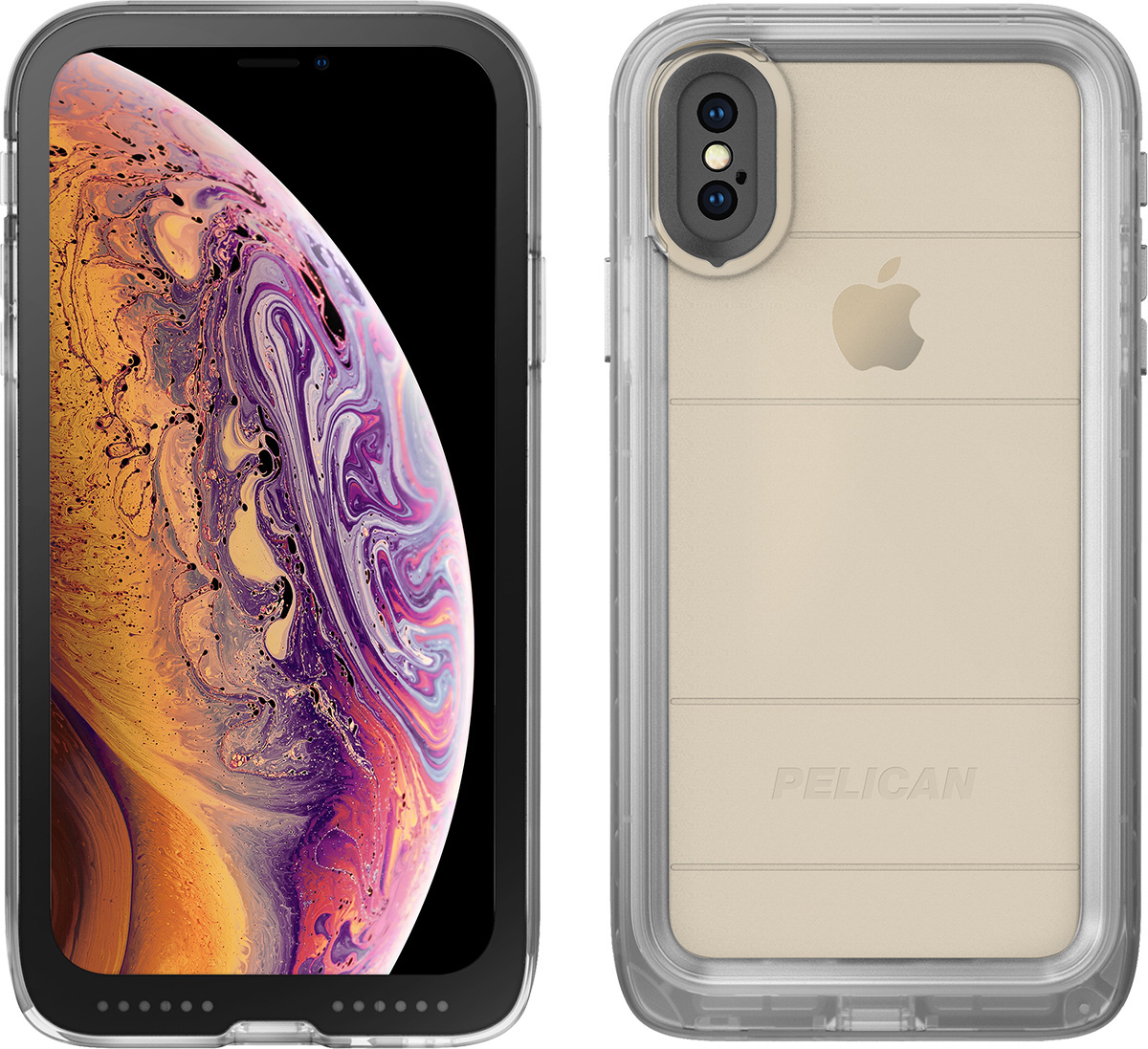 custodia waterproof iphone x