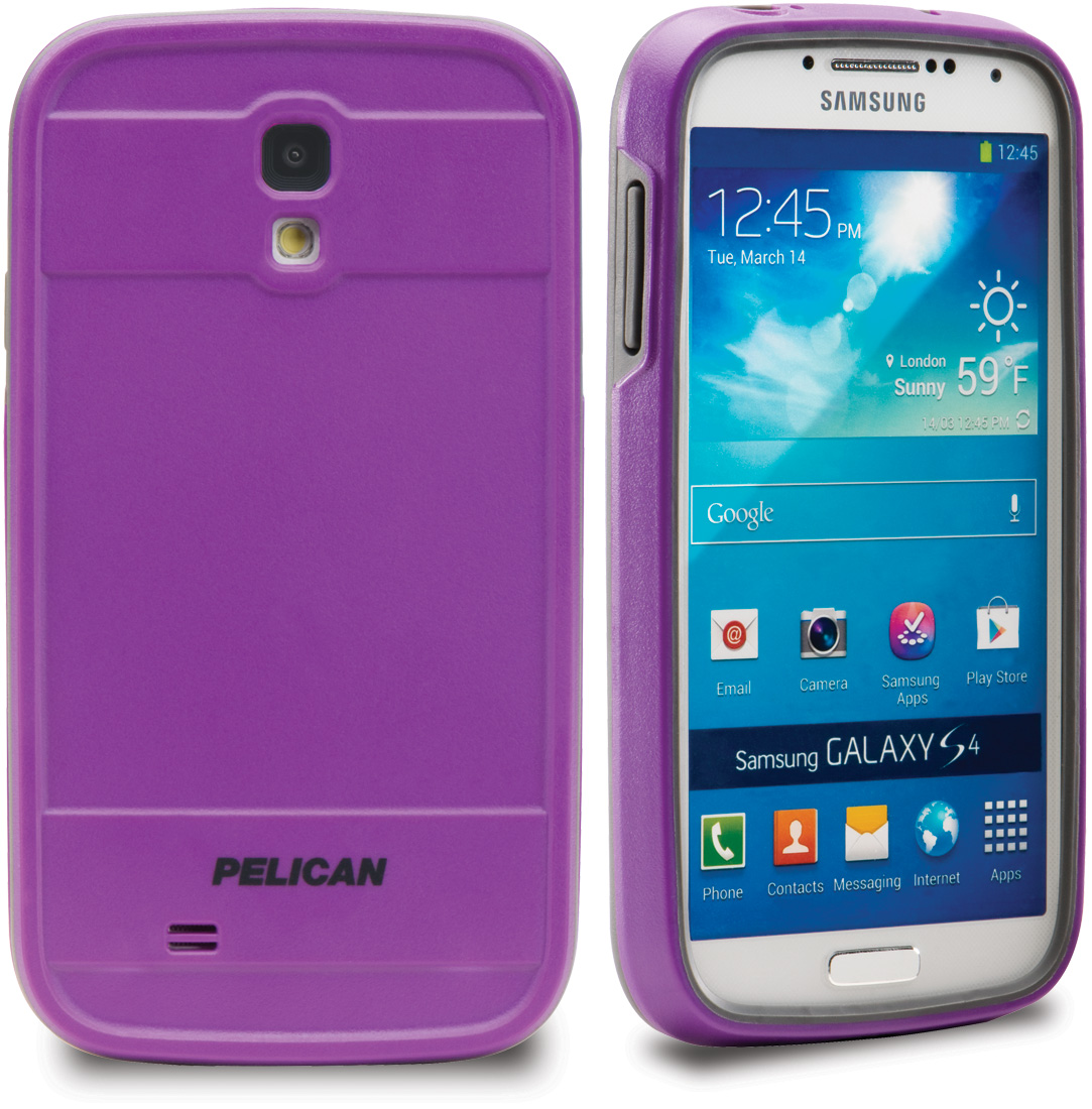 pelican peli products CE1250 purple samsung galaxy s4 case