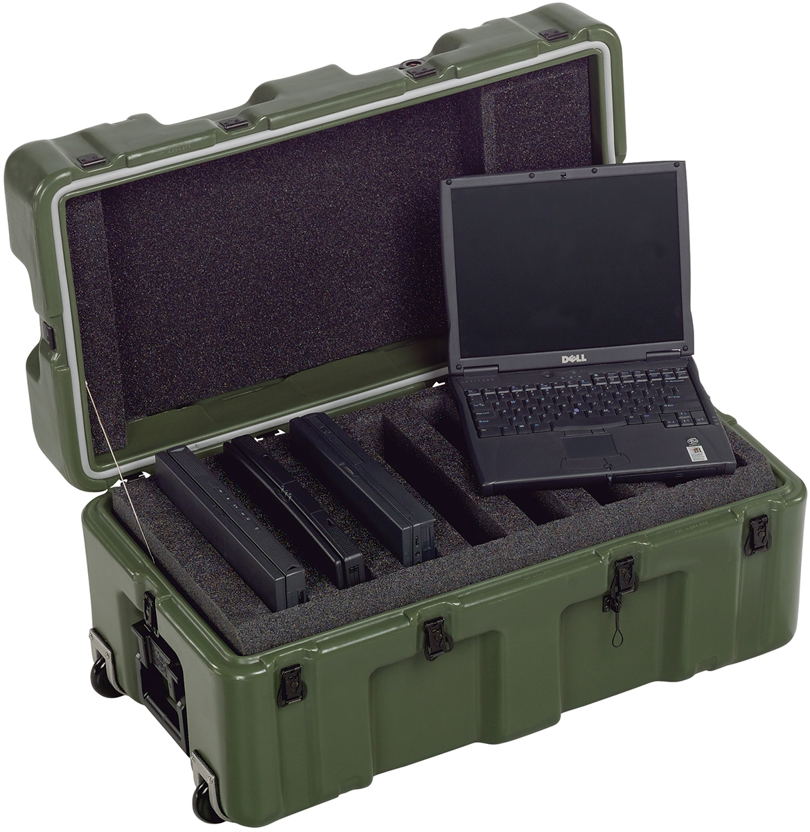 pelican peli products 472 6 LAPTOP military laptop transport case