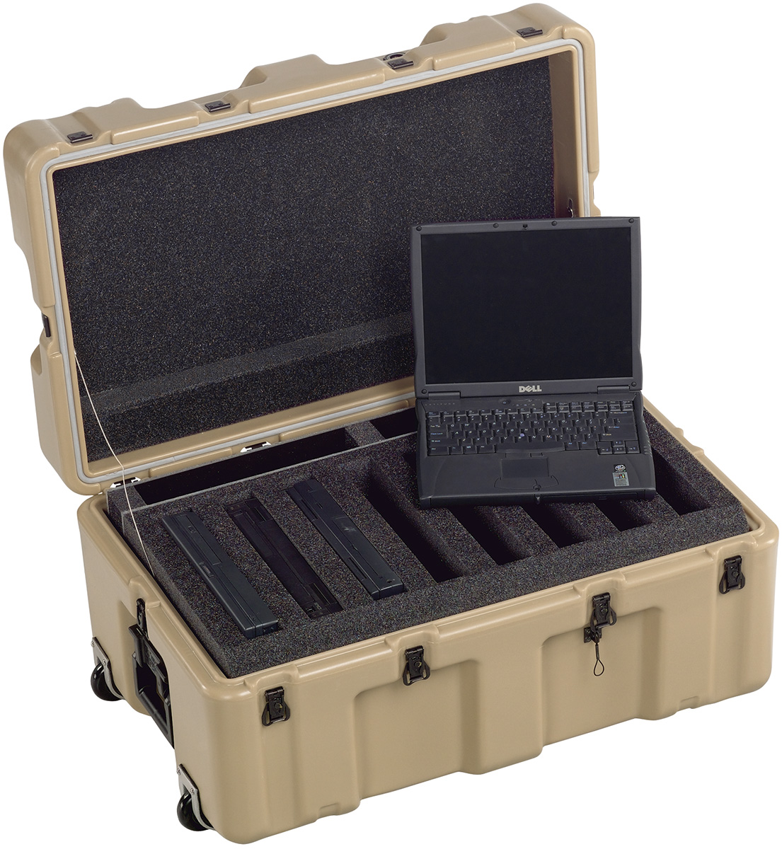 pelican peli products 472 8 LAPTOP military army laptop plastic case
