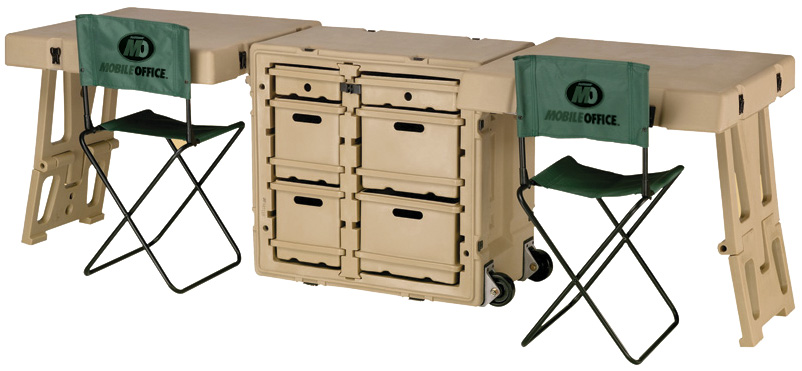 pelican peli products 472 FLD DESK DD military office field desk