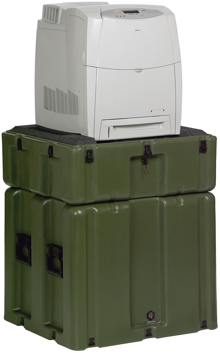 pelican peli products 472 HP 4600DN usa military hp printer hard case