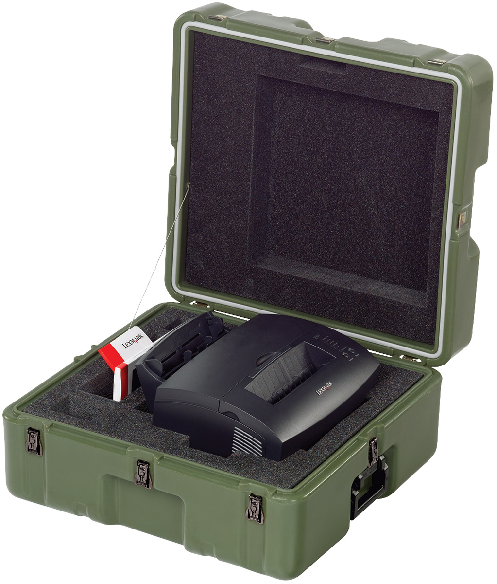 pelican peli products 472 LEXMARK E323 usa military printer transport case