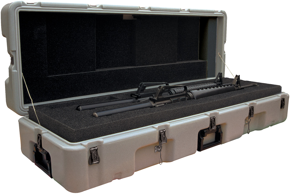pelican peli products 472 M16 2 usa military dual m16 rifle case