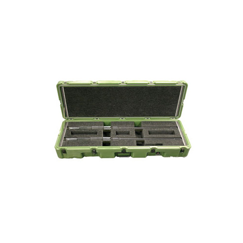 pelican peli products 472 M2 2BBLS military m2 gun transport cases