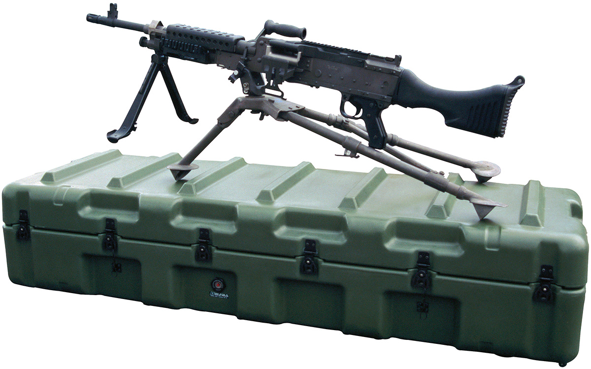 pelican peli products 472 M240B military M240B machine gun case