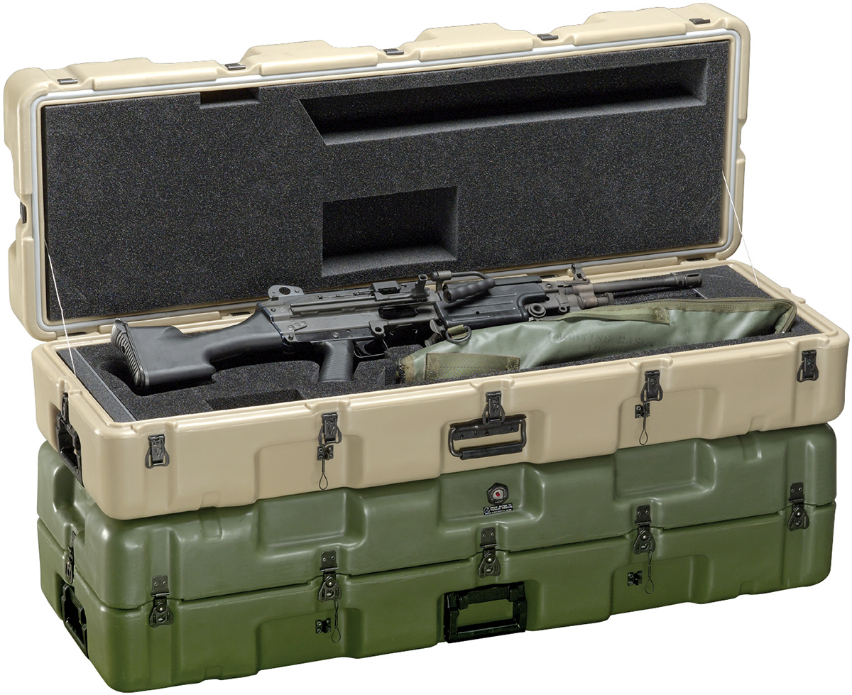 pelican peli products 472 M249 military M249 machine gun case