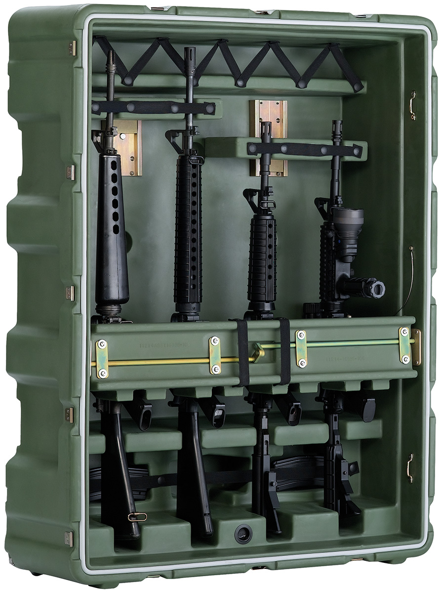 pelican peli products 472 M4 M16 4 usa military m4 m16 transport case