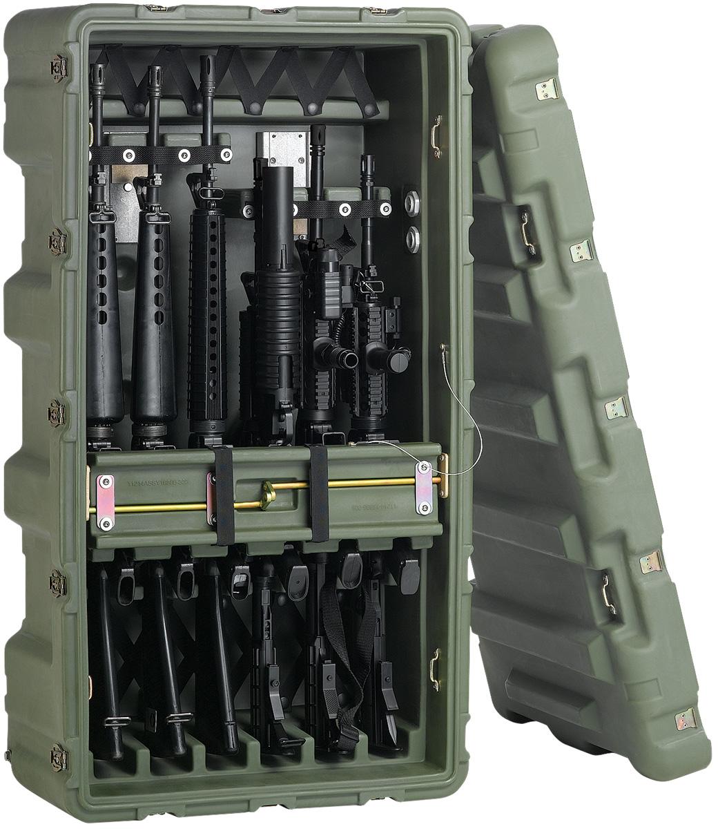 pelican peli products 472 M4 M16 6 usa military m4 m16 hardcase
