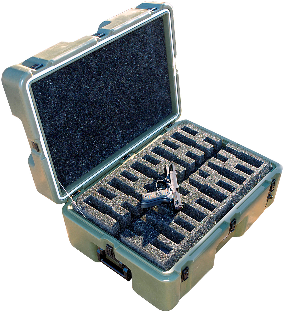 pelican peli products 472 M9 10 military m9 pistol transport case