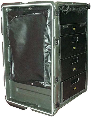 pelican peli products 472 MED 3 DRAWER military medical cabinet usa