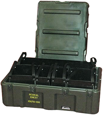 pelican peli products 472 MED 5 TOTE mobile medical supply tote