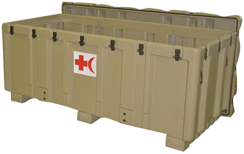 pelican peli products 472 MED AMB mobile military ambulance case