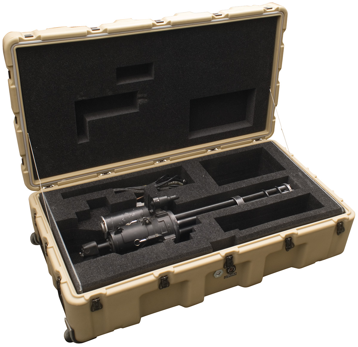 pelican peli products 472 MINIGUN usa military gatling minigun case