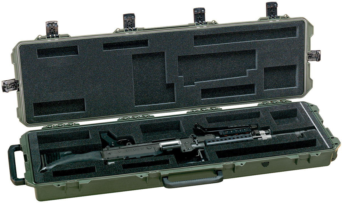 pelican peli products 472 PWC M240B military m240b machine gun case