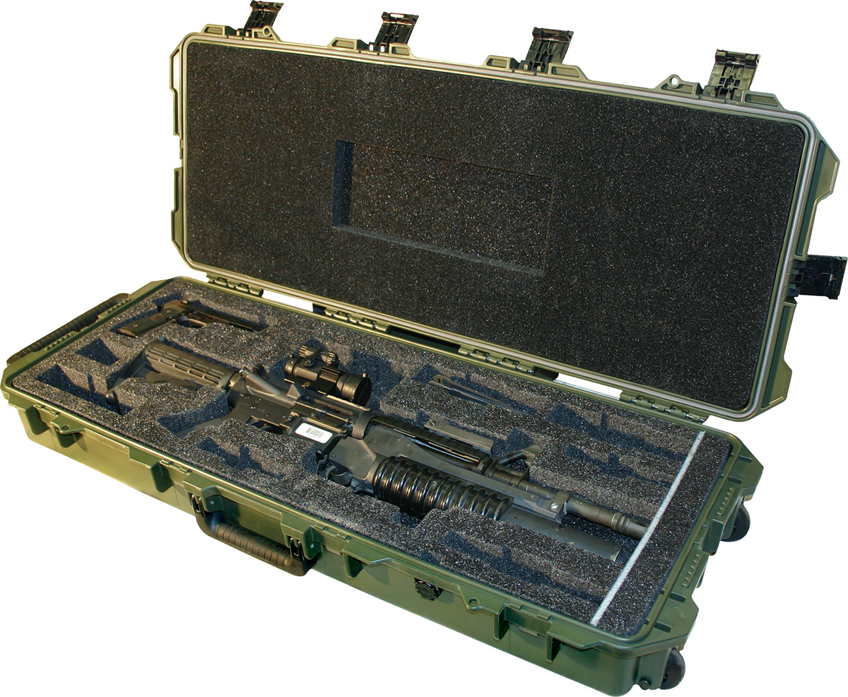 pelican peli products 472 PWC M4 SF hard m4 rifle military usa case