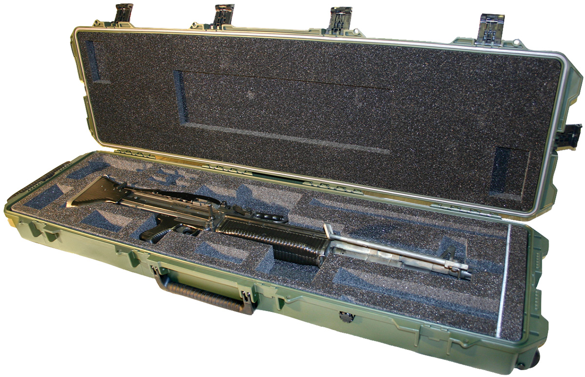 pelican peli products 472 PWC M60 military m60 machine gun case