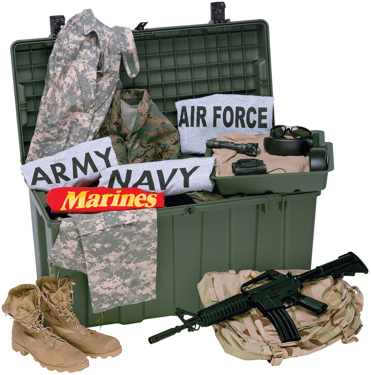 pelican peli products iMTRLK military secure field trunk locker