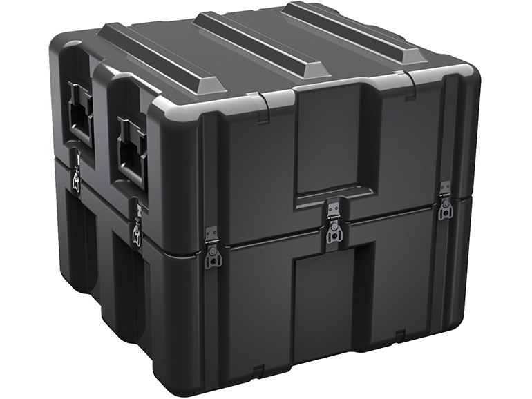 pelican single lid cube case gun cases